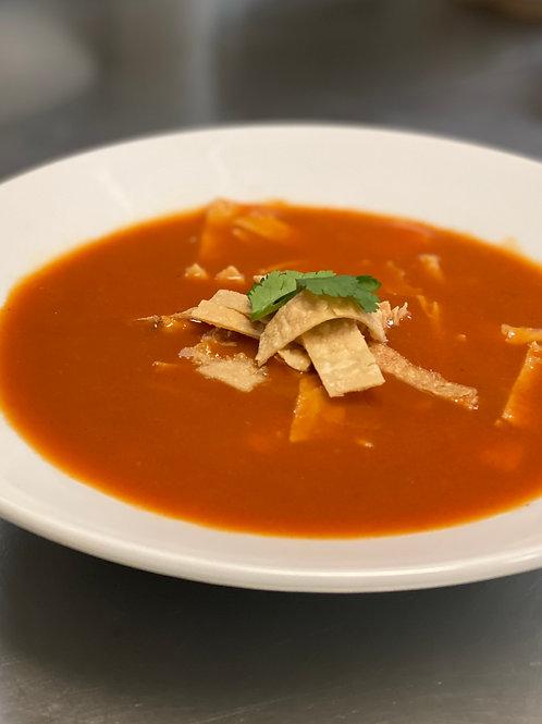MEXICAN TORTILLA SOUP + 3 BEAN CHILI