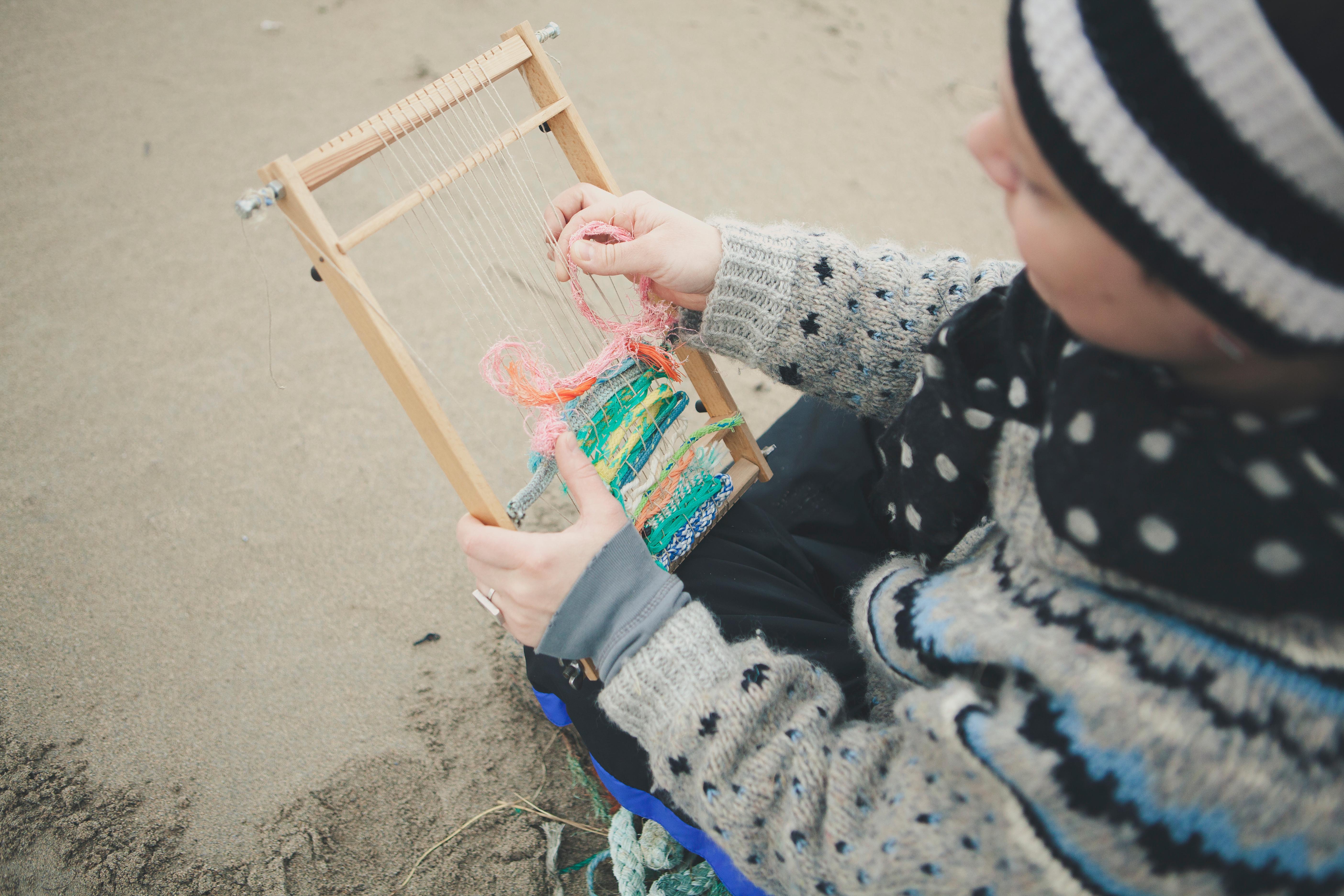 weekly weaving class