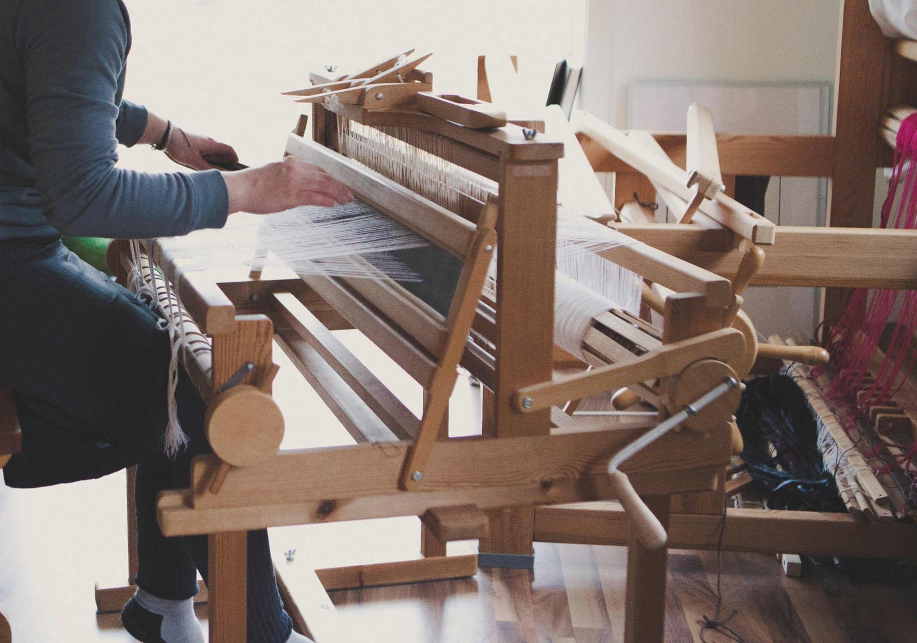 Weaving class 1:1