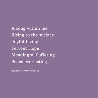 A song within me Rising to the surface o