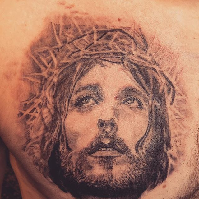 Jesus in progress .. enjoy!_._._._