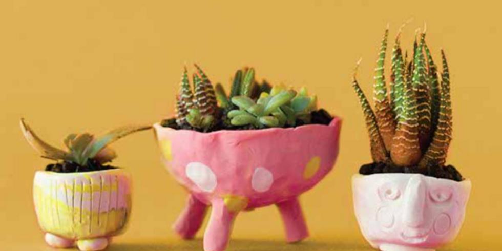 5-week Special Event - Ceramic Planter Pots