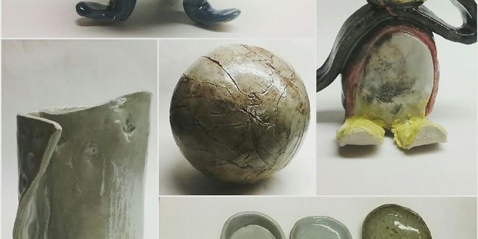 5-week Ceramics Class  AGES 5-9 - Wednesdays Nov 7-Dec 5