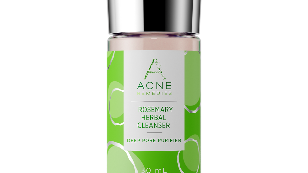 Rosemary Herbal Cleanser-Acne Remedies