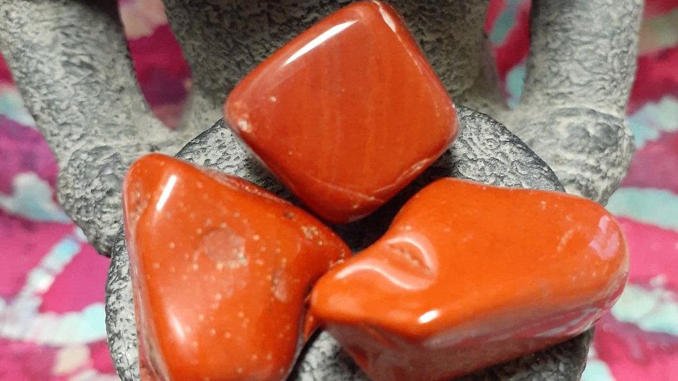 Tumbled Red Jasper / Root Charka Stone