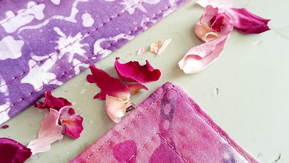Quilted Batik Fabric Bookmark