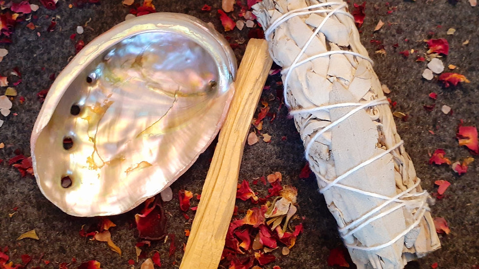 """Cleansing Kit / """"Smudge"""" Stick / White Sage / House Cleansing"""