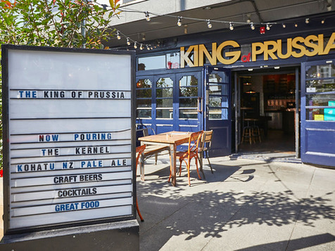 king of prussia bar