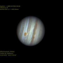 Júpiter e GMV 07/04/18