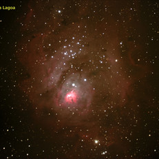 M8 - Nebulosa da Lagoa