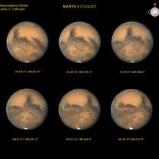 Marte no perigeu