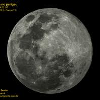Lua cheia no perigeu 08/04/2020