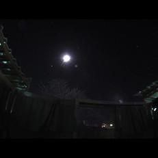 ISS perto da Lua