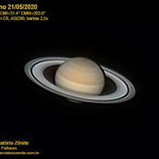 Saturno 21/05/2020