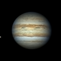 Jupiter e Luas 01/06/2020