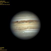 Jupiter 19/06/2019 Transito de Io