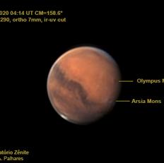 Vulcões de Marte