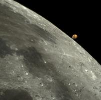 Ocultação Marte Lua