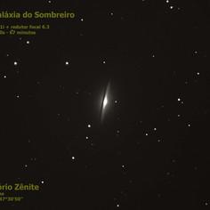 M104 - Galáxia do Sombreiro