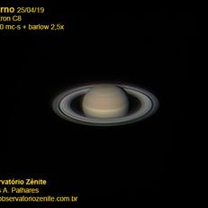 Saturno 25/04/2019
