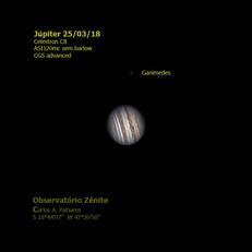 Jupiter + Ganimedes 25/03/18