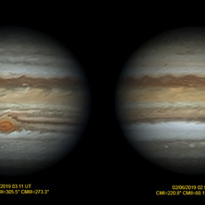 As duas faces de Júpiter!