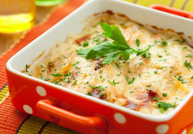 Recipe: Herbed Butternut, Squash, Sweet Potato Casserole