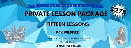 15-Private Lesson Package