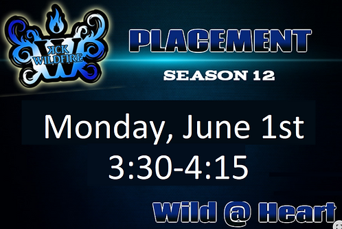 Placements June 1st at 3:30PM (2006-2008)