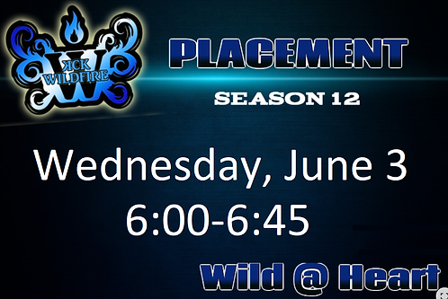 Placements June 3rd at 6:00PM (2006-2008)