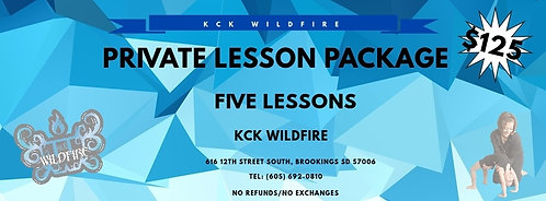 5-Private Lesson Package