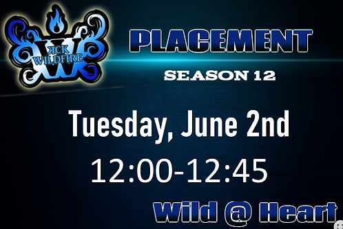 Placements June 2nd at 12:00PM (2006-2008)