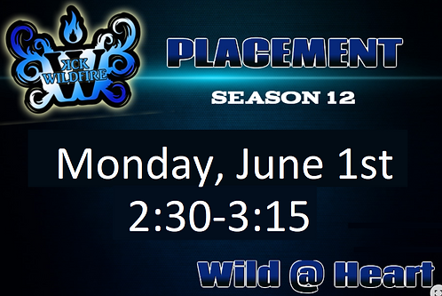 Placements June 1st at 2:30PM (2009-2015)