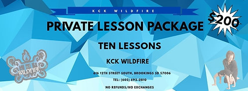 10-Private Lesson Package