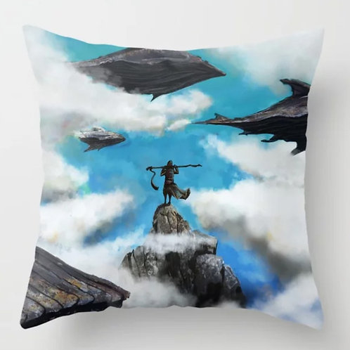 Flying Whales Cushion