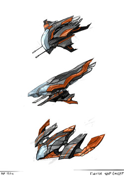 Fighter ship concept