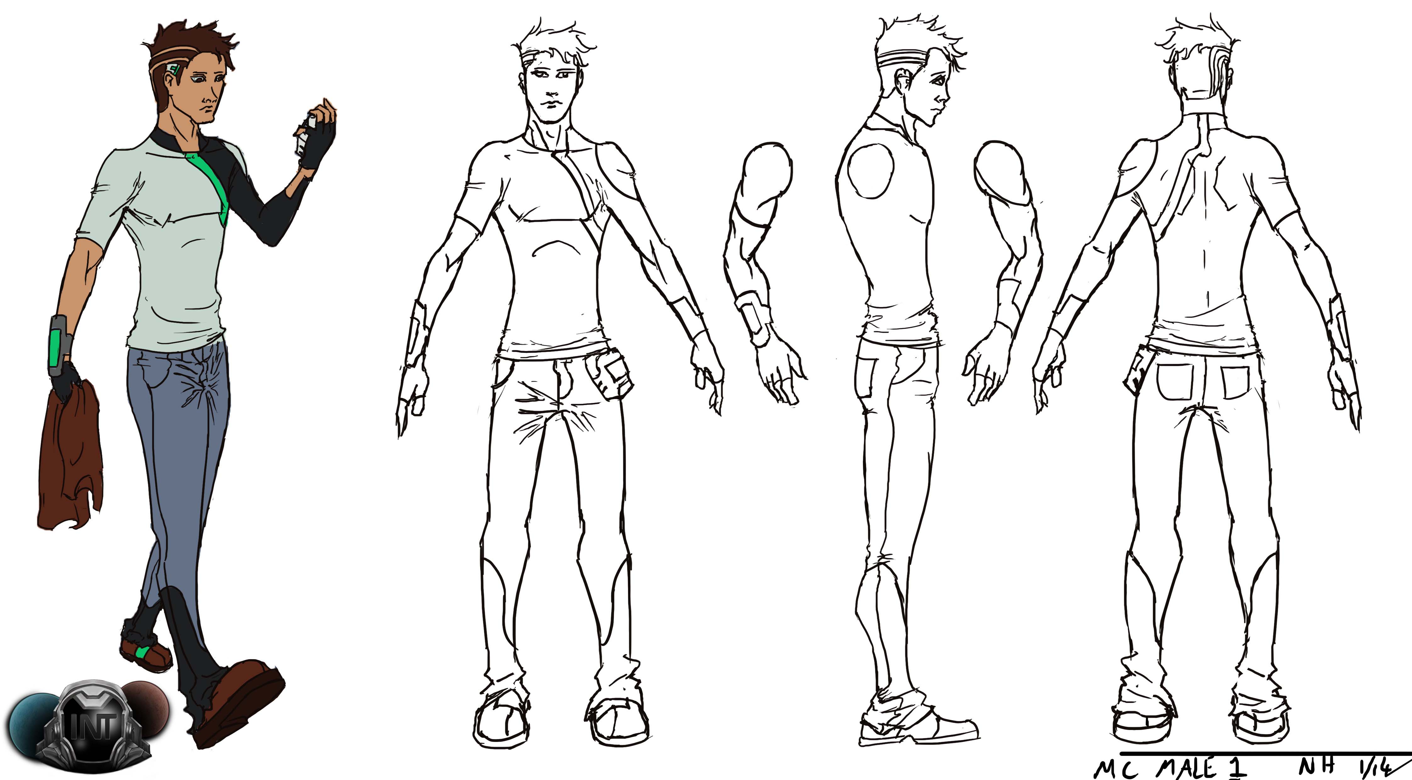Male Character Concept