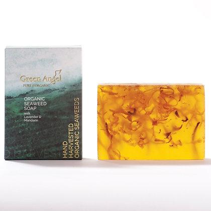 Green Angel Organic Seaweed Soap 115g