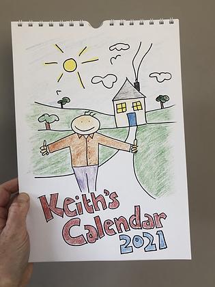 Keith's 2021 Calendar