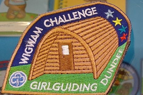 Image of the Wigwam Challenge badge