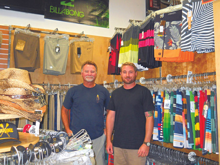 Surf, skate and sunglasses business is a family affair