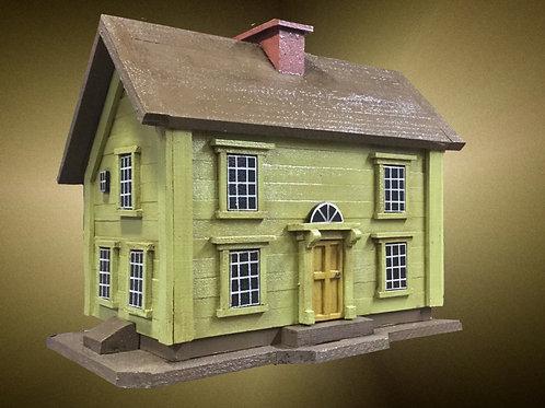 #093 Green New England Saltbox