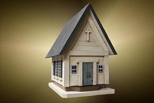 #075 Small White Church