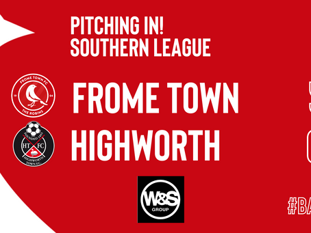 REPORT: Frome Town 5-0 Highworth Town