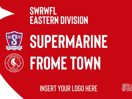 WOMEN'S REPORT: Swindon Supermarine 1-4 Frome Town