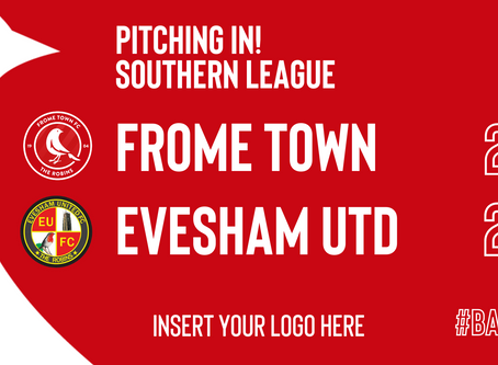 REPORT: Frome Town 2-2 Evesham United