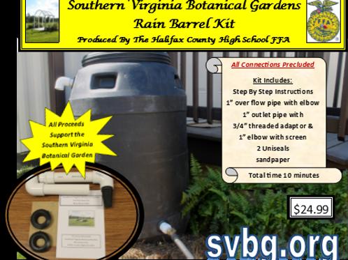 The Southern Virginia Rain Barrel Kit