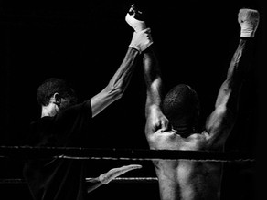 THE ROAD TO SUCCESS IS A BOXING MATCH—DON'T GET KO'D