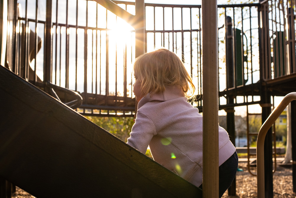 Using light to enhance photographs of your children.