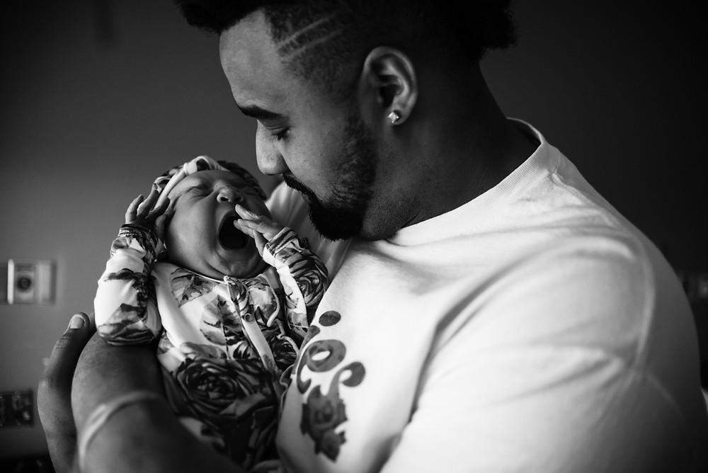 Austin Fresh 48 Hospital Newborn Photography